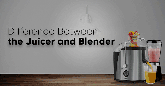 difference between the juicer and blender- the juicer review