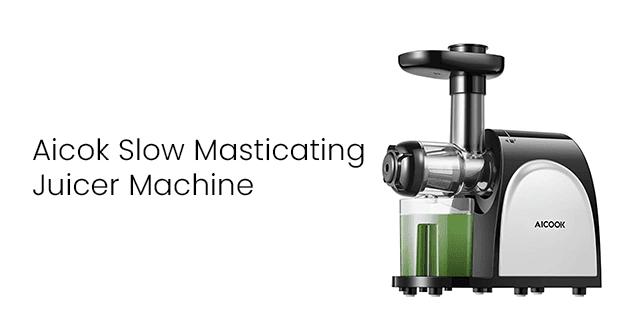 Aicok Slow Masticating Juicer Machine