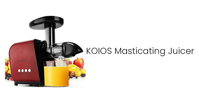 KOIOS Masticating Juicer
